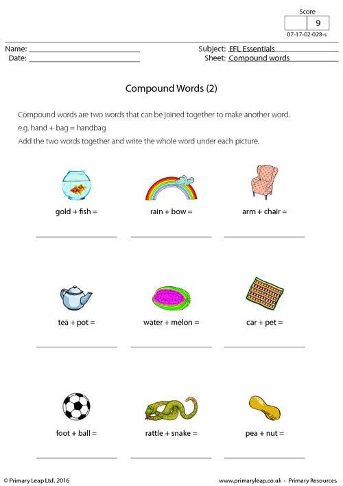 EFL - Compound Words (2)