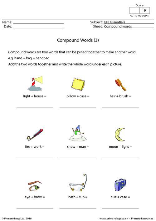 EFL - Compound Words (3)