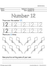 The number twelve