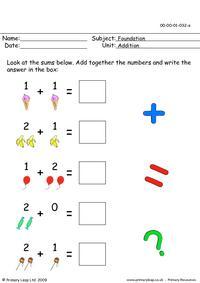 Adding 3