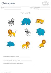 How many? (wild animals)