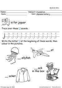 The letter Jj