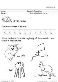 The letter Kk