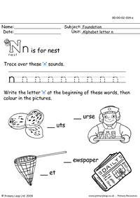 The letter Nn
