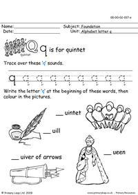 The letter Qq