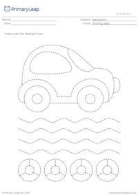 Pencil control - Car