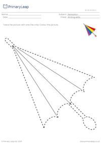 Trace and colour - Umbrella