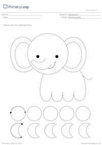 Pencil control - Elephant