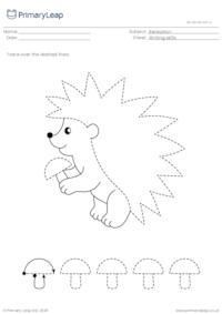 Pencil control - Hedgehog