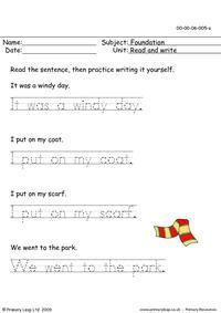 Read & Write 5