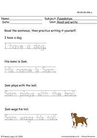 Read & Write 6