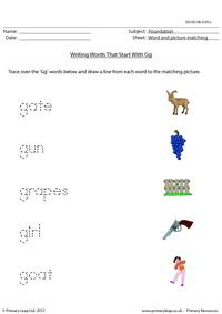 Words starting with Gg