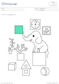 Recognising squares