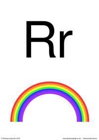 Letter Rr