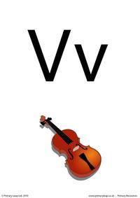 Letter Vv