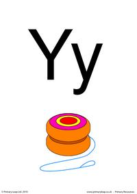 Letter Yy