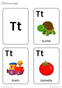 T sound flashcards