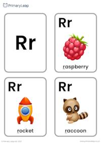 R sound flashcards