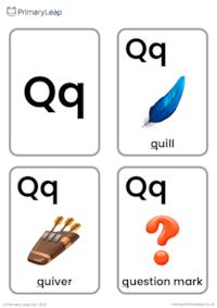 Q sound flashcards