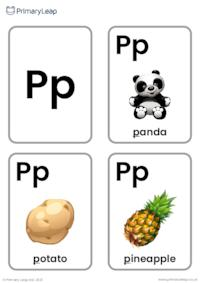 P sound flashcards