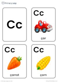 C sound flashcards