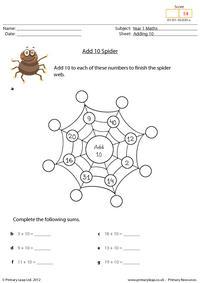 Add 10 Spider