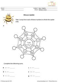 Minus 5 Spider