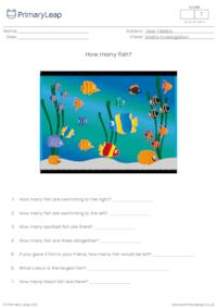 Maths investigation - How many fish?