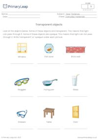 Transparent objects