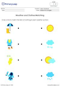 Weather and Clothes Matching