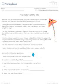 The history of the kite
