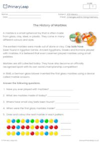 The history of marbles