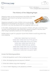 The skipping rope