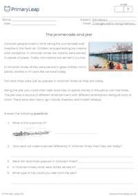 The promenade and pier