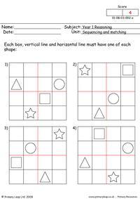 Sudoku shapes 1