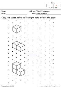 Cube patterns (1)