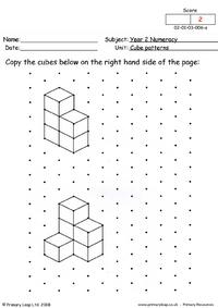 Cube patterns (2)