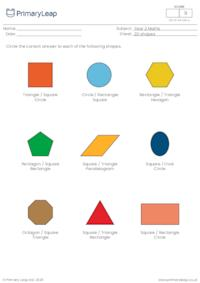 Identify 2D shapes
