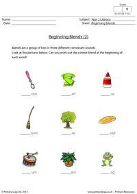 Beginning blends (2)