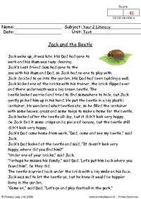 Jack and the beetle