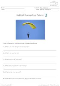Making Inferences from Pictures 2