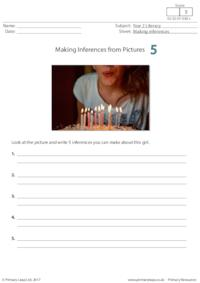 Making Inferences from Pictures 5