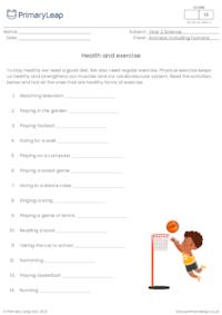 Health and exercise 1