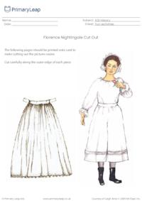 Florence Nightingale Cut Out