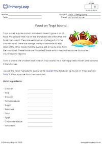 Food on Tropi island