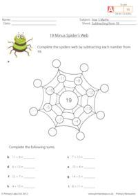 19 Minus Spider's Web