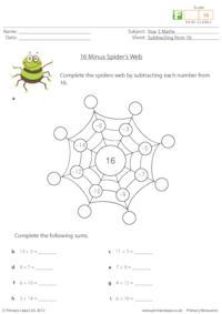 16 Minus Spider's Web