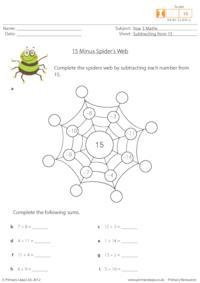 15 Minus Spider's Web
