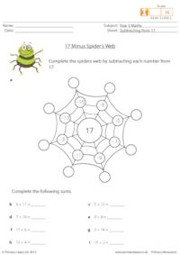17 Minus Spider's Web