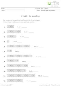 Bar Modelling - 2 xtable